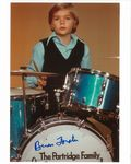 Brian Forster  from the Partridge Family  Rare Genuine Autograph 9090